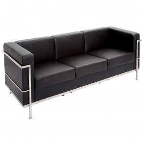 Modern Executive Lounge Three Seater Sofa