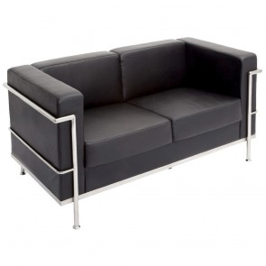 Modern Executive Lounge Two Seater Sofa