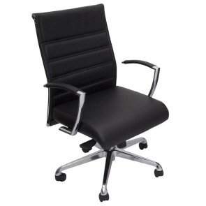 Modern Genuine Leather Home Office Chair