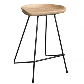 Modern Industrial Kitchen Counter Bar Stool