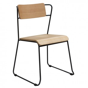 Retro Industrial Dining Chair