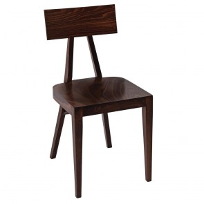 Modern Bentwood Chair A-0336 Walnut