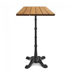 Celestine Rustic Industrial Outdoor Bistro Table