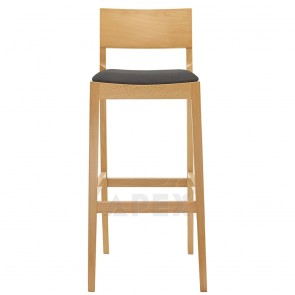 Oak Modern Light Bar Stool BST-0955