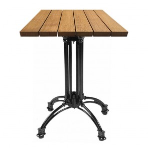 Angel Rustic French Bistro Outdoor Table-Natural