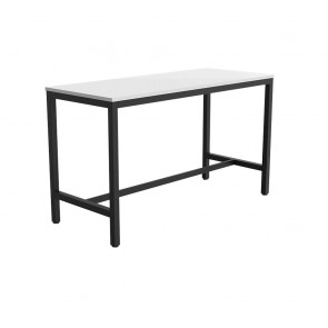 Enterprise Office Bar Height Learner Black Frame Table
