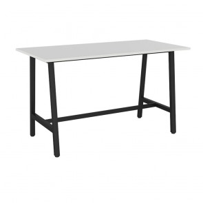 Office Bar Table Black Legs