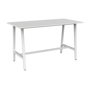 Office Bar Table White Legs