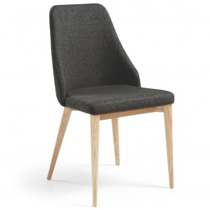 Olivia Armchair Natural Wood Legs
