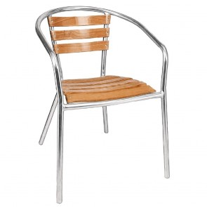 American Ash Outdoor Arm Chair