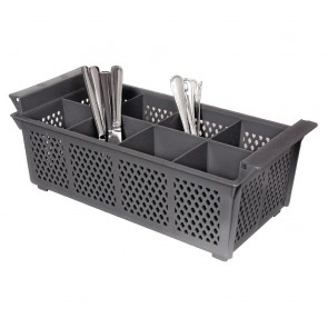 P174 Dishwasher Cutlery Basket 8 Compartment