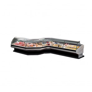PAN1500 FED Curved front glass deli display PAN1500 -