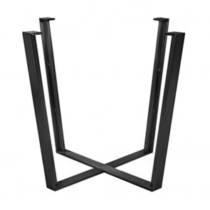 Phebe Black Metal Table Base