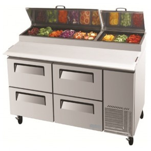 Austune Pizza Fridge with 4 Drawers CTPR-67-D4