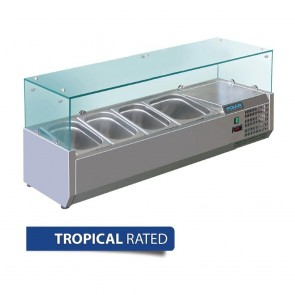 Polar Refrigerated Servery Topper 1200mm