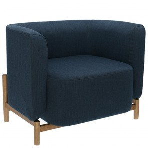 Polar Upholstered Occasional Armchair B-1806
