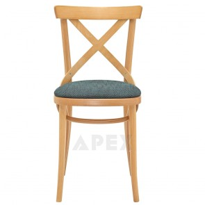 Provincial Bentwood Cross Back Chair A-8810/1 UPH