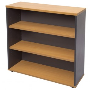 Beech Short Office Bookcase