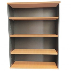 Beech Mid Office Bookcase