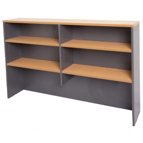 Beech Overhead Office Hutch