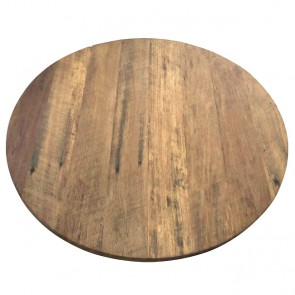Recycled Timber Round Table Top