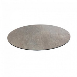 Round Stone Compact Laminate Table Top