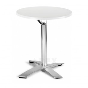 Rylie Lightweight Stackable Round Indoor Outdoor Folding Table