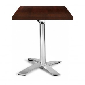 Rylie Stackable Square Timber Folding Table