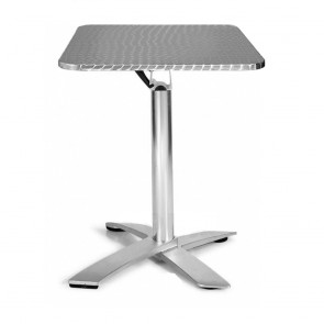 Rylie Folding Table Outdoor Stainless Steel Stackable
