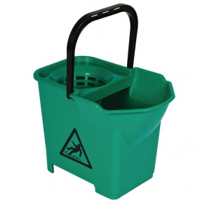 S224 Mop Bucket Complete Green - 3 parts