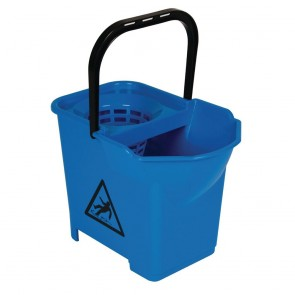 S225 Mop Bucket Complete Blue - 3 parts
