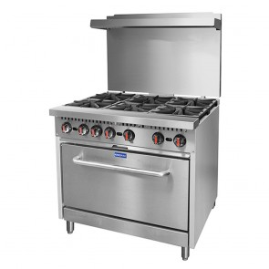 S36(T) FED Gasmax 6 Burner With Oven Flame Failure S36(T)