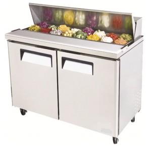 Austune Salad Preparation Table 762mm deep 16 pans AST-60