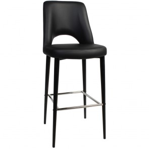 Scandi Vinyl Bar Stool