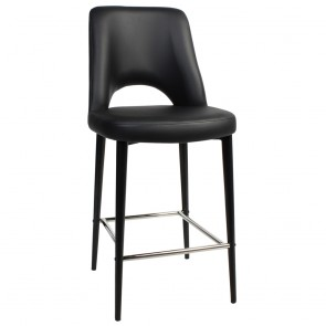 Scandi Vinyl Counter Stool