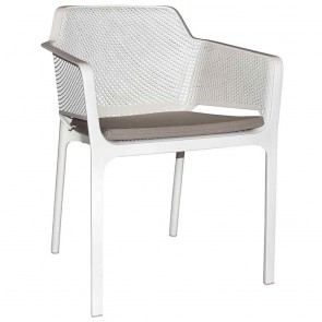 Seat Pad Cushion  for Contemporary Outdoor Arm Chair