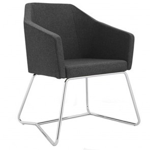 Fransisca Modern Reception Chair Accent Armchair