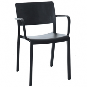 Sienna Outdoor Stackable Dining Chair with Arms