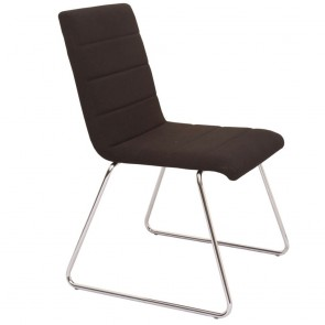 Slide Upholstered Conference Chair with Sled Base