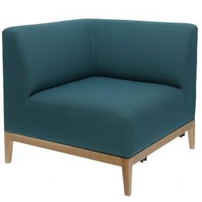 Snug Upholstered corner Chair B-1515