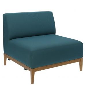 Snug Upholstered Lounge Chair B-1515