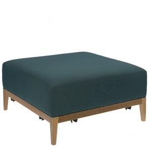 Snug Upholstered Ottoman A-1515