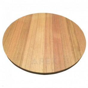 Solid Oak Round Table Top Natural Finish