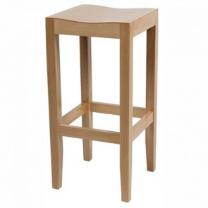 Solid Wood Commercial Bar Stool