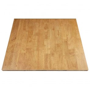 Solid Wood Table Top Natural Finish