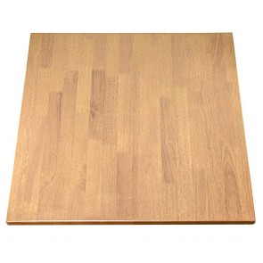 Solid Wood Table Top Oak Finish