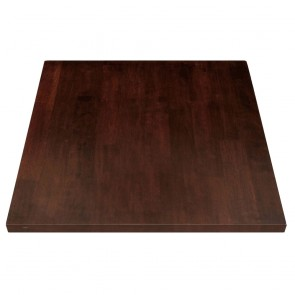 Solid Wood Table Top Walnut