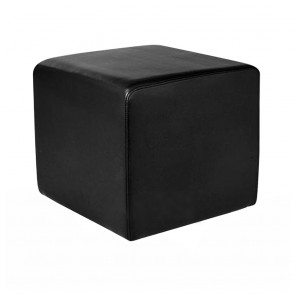 Selina Square Ottoman Commercial Quality Vinyl