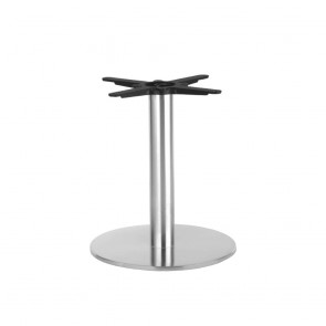 Jaquelina Round Stainless Steel Coffee Table Base 400