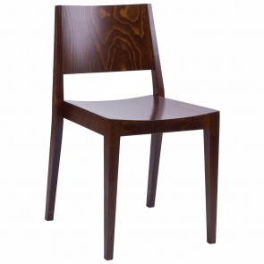 Starr Solid Wood Sustainable Timber Dining Chair Stackable